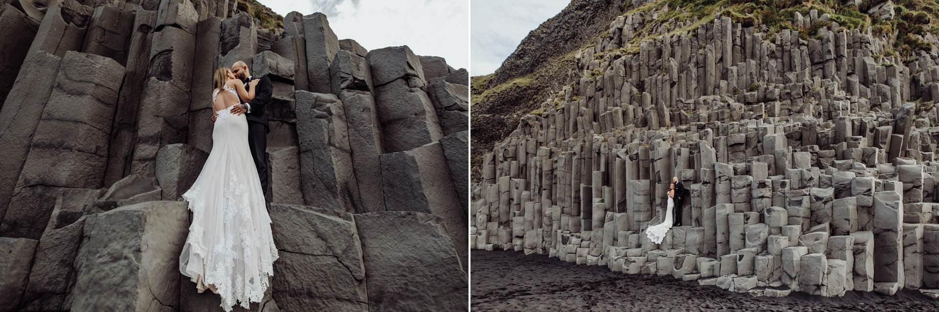 Sesja slubna na Islandii