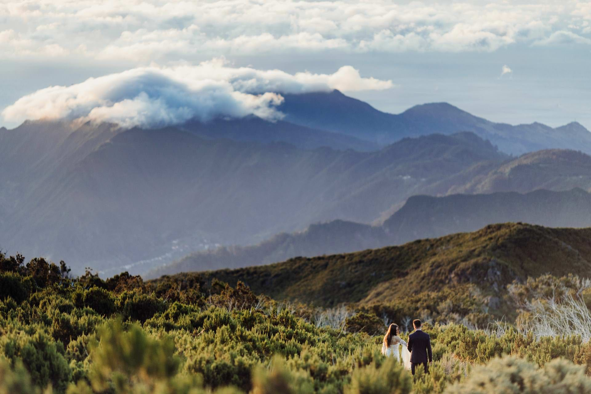 sesja slubna na Maderze