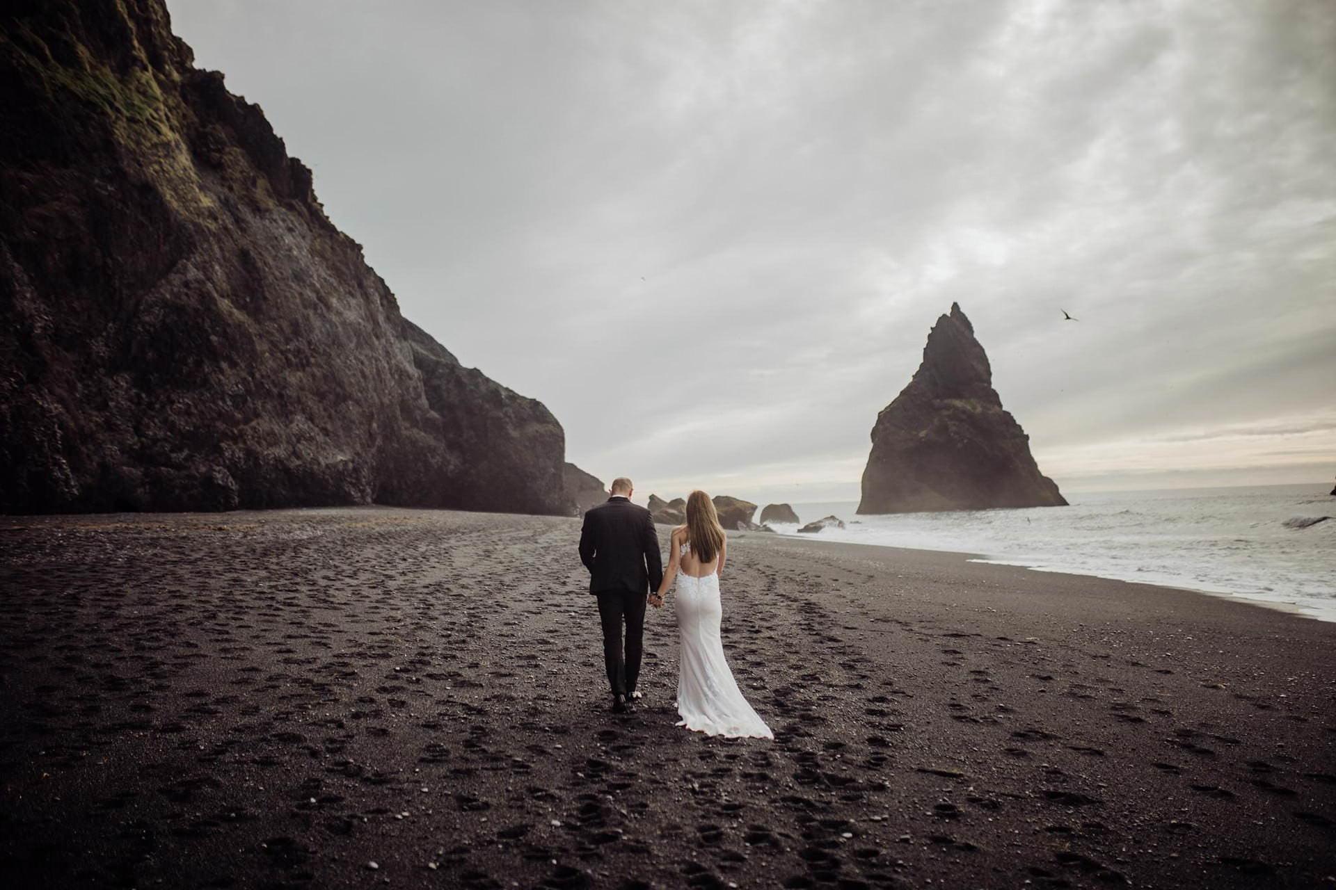 Plener slubny na Islandii