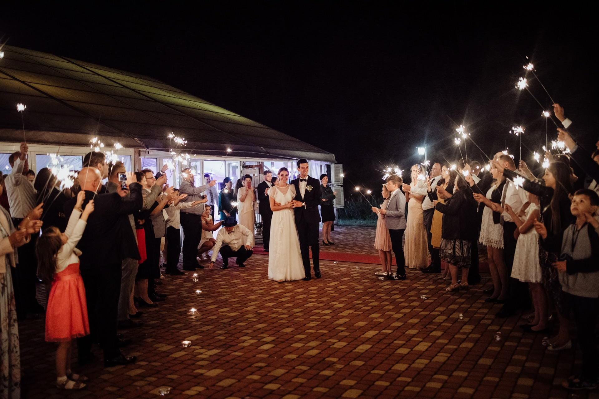 wesele pod namiotem