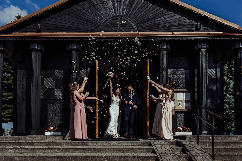 ślub w kameralnym Kościele