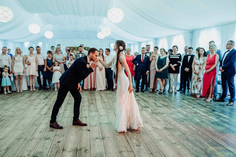 przyjęcie weselne w Reymontówce