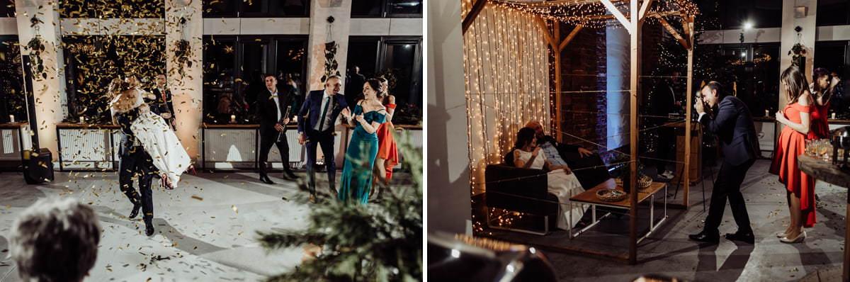 szalone wesele w Tektura Boho