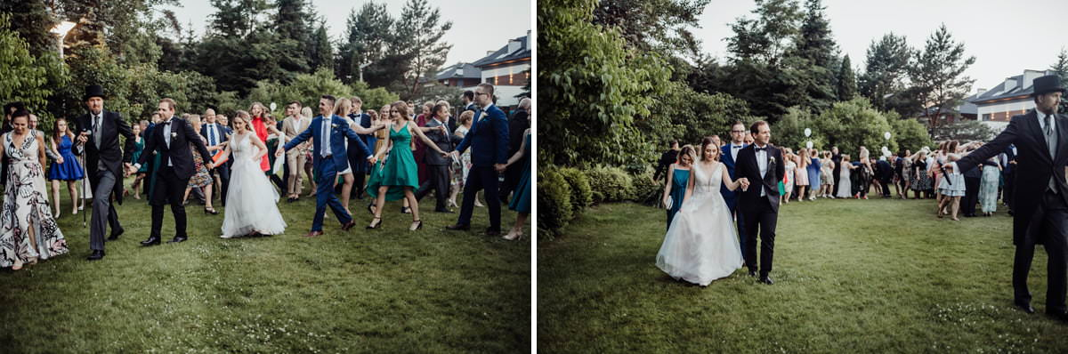 przyjęcie weselne w Kolumna Park