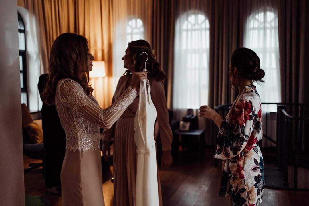 przygotowania Panny Młodej do ślubu w VIENNA HOUSE ANDEL'S LODZ