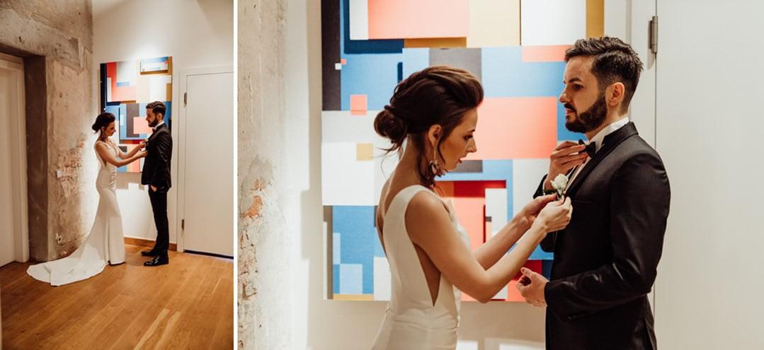 Przygotowania do ślubu w VIENNA HOUSE ANDEL'S LODZ