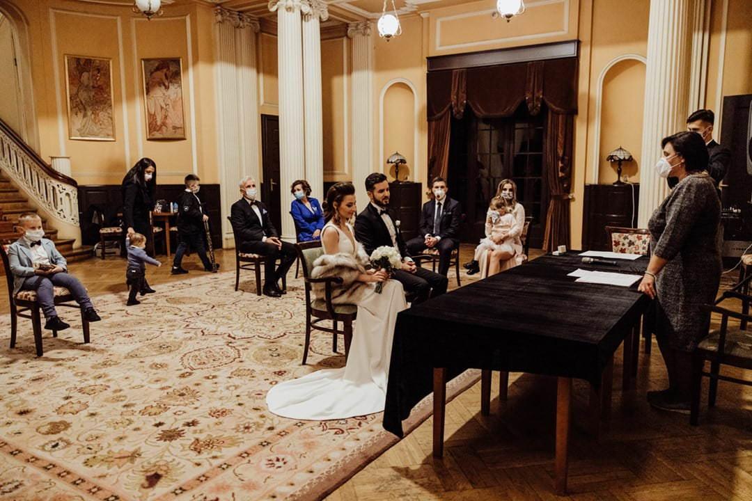 ślub cywilny w Instytucie Europejskim w Łodzi