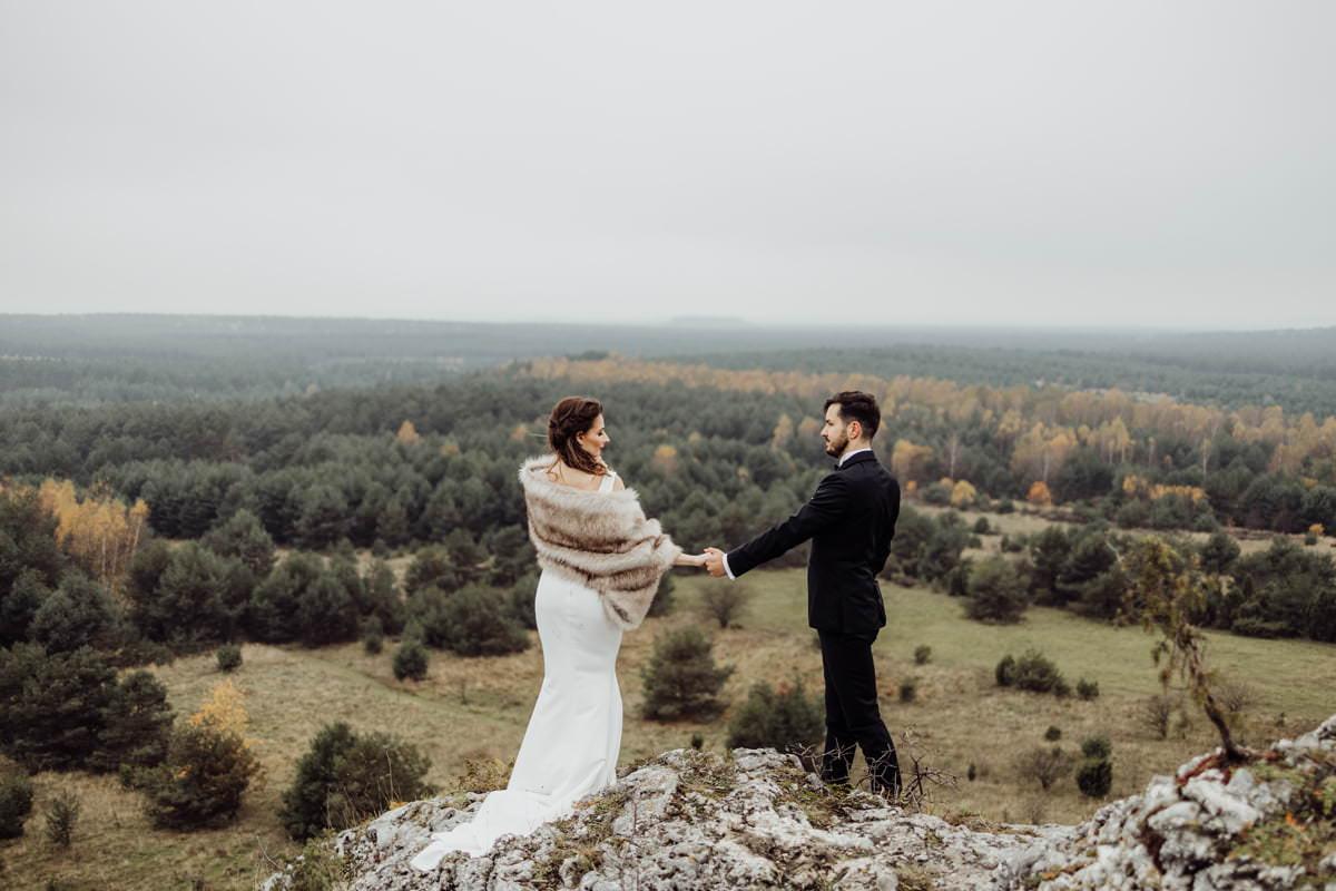 sesja ślubna w plenerze